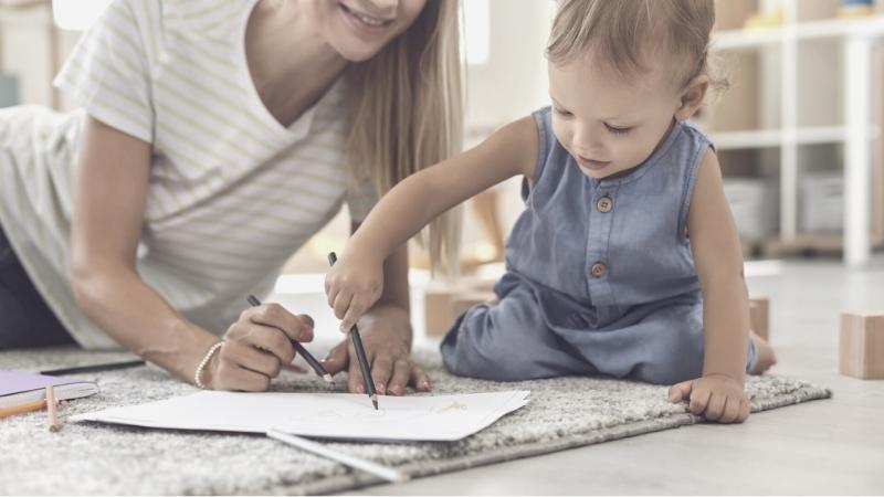 Can toddlers write?